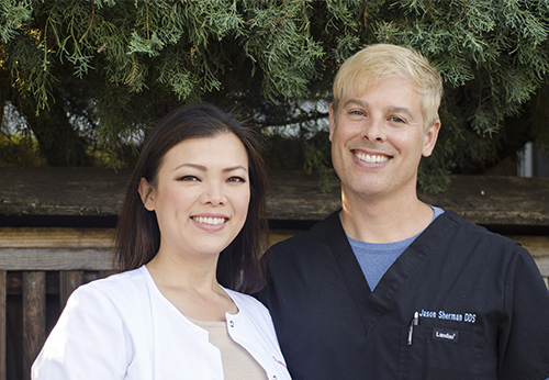 Contact Katelyn Du, DDS, FAGD and Jason Sherman, DDS, FAGD