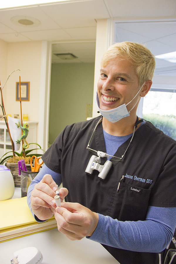 Jason Sherman DDS with Tooth. Learn more about the practice.
